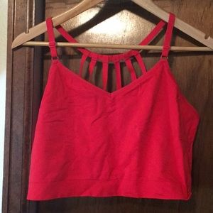 NWOT red cacique bralette